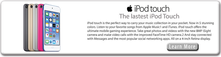 iPod Touch in stock