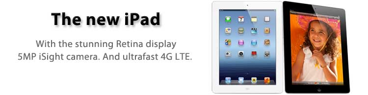 New iPad in stock